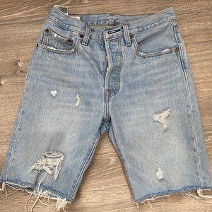 Levi knee length Bermuda shorts